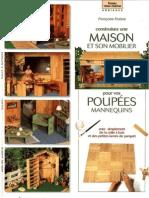 Construisez Une Maison Et Son Mobilier Pour Poupees