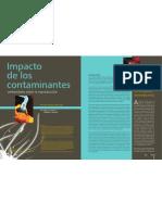 Impacto de los contaminantes ambientales sobre la reproducción