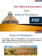 16(A) Order of Procedence