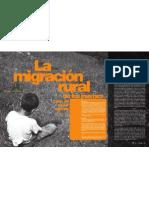 La migración rural de los jóvenes. Crisis del sector agrícola