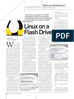 Linux on a Flash Drive