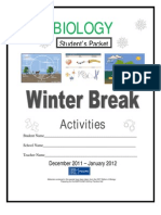 HSA Biology 2011-2012_Winter Break Packet