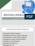 Perencanaan Pertemuan Sistem Operasi