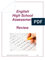 HSA English Review