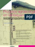 Procesos agroecológicos, en Ventaquemada Boyacá