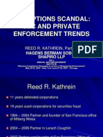 The Options Scandal Sec and Private Enforcement Trends 2139