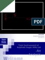 Task Environment of Rajshahi Sugar Mills