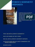 Metalliferous Sediment Deposits Classroom