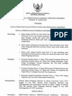 Keputusan Kepala Perpustakaan Nasional Indonesia Nomor 20 Tahun 2005
