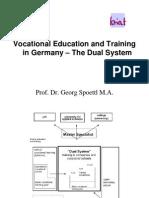 The Dual System Georg Spoettl  Universitat Flensburg/Bremen