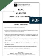 Practice Test Paper-2_VII
