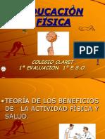 BENEFICIOS ACT. FÍSICA Y CALENTAMIENTO 1º E.S.O.