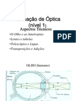 técnico optica nível I