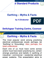 Earthing system design - Myths & Facts