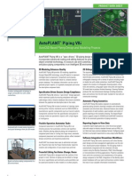 Autoplant Piping Product Data Sheet