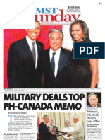 Manila Standard Today - Sunday (November 11, 2012) Issue
