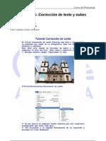 Corrección de lente y nubes UD36 Tutorial Photoshop Academia Usero