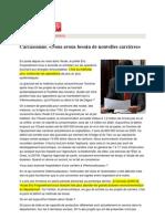 208 la dépêche 20 septembre 2012 préfet Aude - opposition projet