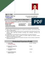 Resume Bhupinder Updated