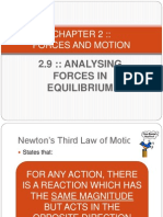 2.9 Analysing Forces in Equilibrium