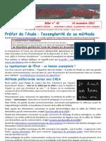 LASSAC officiel billet n° 43 du 10 novembre 2012