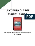LA CUARTA OLA DEL ESPÍRITU SANTO