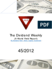 Dividend Weekly 45_2012 By http://long-term-investments.blogspot.com