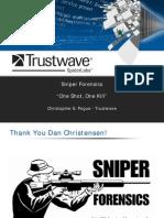 DEFCON 18 Trustwave Spiderlabs Sniper Forensics