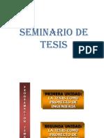 Seminario de Tesis. 2da.clase