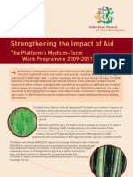 Strengthening the Impact of Aid
