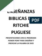 Listado de enseñanzas bíblicas diseñadas con el programa Power Point de Microsoft Word