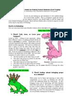 Primary Debating Guide