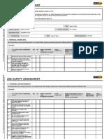 Ws Job Safety Assessment 11