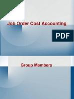 Job Order Cost