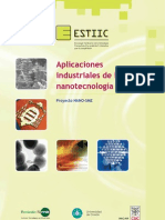 Aplicaciones Industriales de La Nanotecnologia