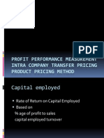 Profit Performance Measurement
