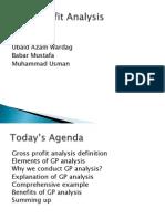 Gross Profit Analysis1