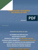COMPOSICIÓN Y EFIFICIENCIA DEL RODEO DE CRIA 2012