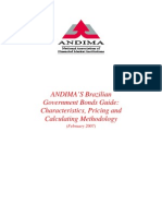 ANDIMA'S Brazilian Government Bonds Guide - Characteristics, Pricing and Calculating Methodology
