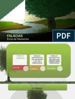 FALÁCIAS FORMAIS E INFORMAIS