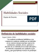 Habilidades Sociales Clases Formativa