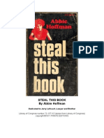 Abbie Hoffman - Steal This Book