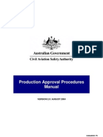 Production Approval Procedures Manual