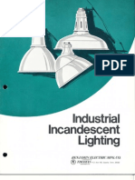 Benjamin Lighting RLM Industrial Incandescent Brochure 1976