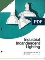 Benjamin Lighting RLM Industrial Incandescent Brochure 1976