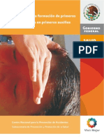 Manual Primeros Auxilios Mexico