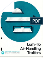 Benjamin Lighting Lumi-Flo Troffer Brochure 1972