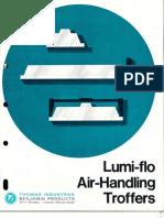 Benjamin Lighting Lumi-Flo Troffer Brochure 1972