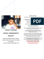 Nygel Inquest Protest