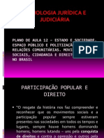 PLANO DE AULA 12 – ESTADO E SOCIEDADE